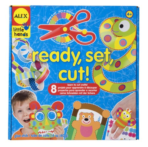 ALEX® Toys - Early Learning Ready, Set, Cut! -Lit