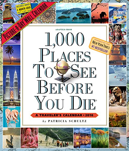 1,000 Places To See Before You Die Picture-A-Day Wall Calendar 2016