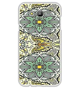 ifasho Animated Pattern colrful flower and butterfly Back Case Cover for Samsung Galaxy On 5