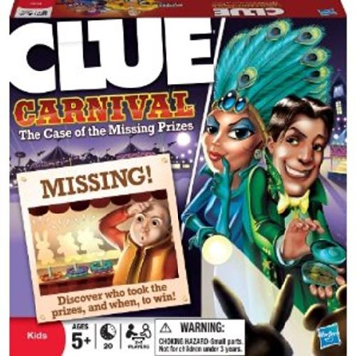 Clue Carnival - The Case of the Missing Prizes - 1