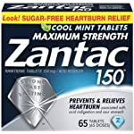Zantac 150 Cool Mint Tablets, 65 Count
