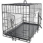 "OxGord 48"" XXXL Dog Crate, Double-Doo..."