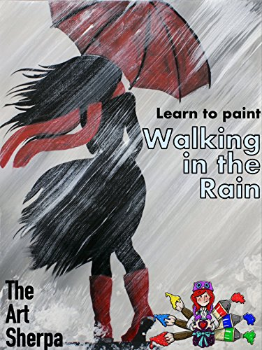 Learn to paint Walking in the Rain with The Art Sherpa