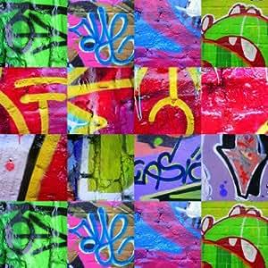 Amazon.com: Graffiti Collage - CANVAS OR FINE PRINT WALL ART: Posters