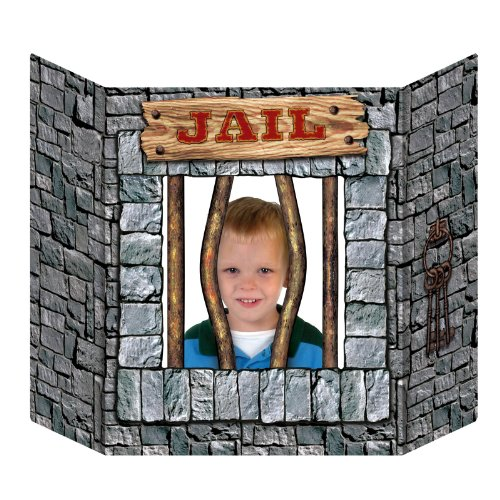 Jail Photo Prop Party Accessory (1 count) (1/Pkg)