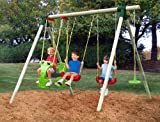Little Tikes Stockholm Wood Swing Set
