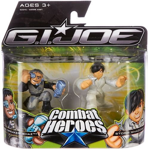"G.I. Joe The Rise of Cobra Combat Heroes 2-Pack Abel ""Breaker"" Shaz & Storm Shadow"