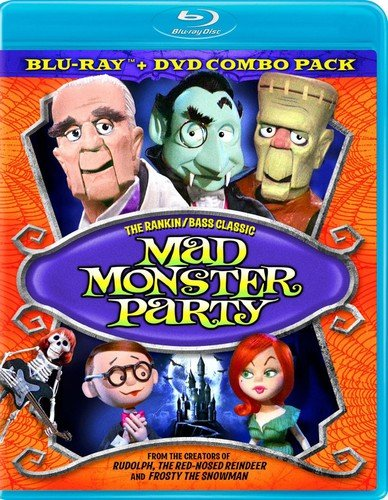 Blu-ray : Mad Monster Party (With DVD, Full Frame, , Dolby, 2 Disc)