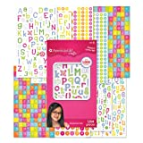 American Girl Crafts Sticker Pad, Alphabet