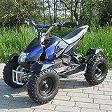 Miniquad Elektro Cobra Kinder 800 Watt ATV Pocket Quad Kinderquad Kinderfahrzeug blau/schwarz