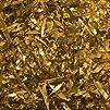 1.5 oz. Gold foil confetti