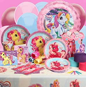Amazon.com: My Little Pony Deluxe Party Kit: Toys & Games