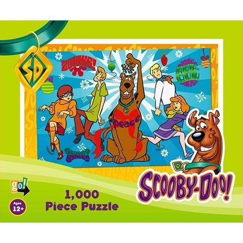 Scooby Doo Christmas 1000 Piece Puzzle by Go! Games