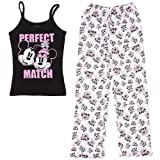 Disney Women's Mickey and Minnie Mouse Match Pajamas