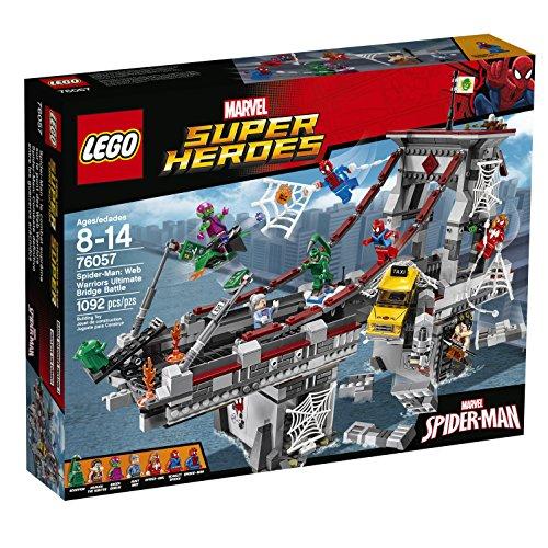 LEGO-Super-Heroes-76057-Spider-Man-Web-Warriors-Ultimate-Bridge-Building-Kit-1092-Piece