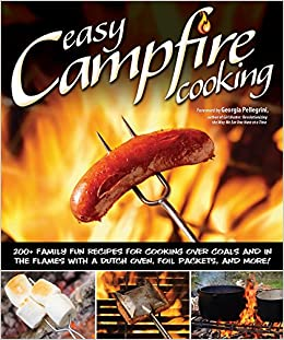 easy campfire cooking peg couch 0858924003450 books