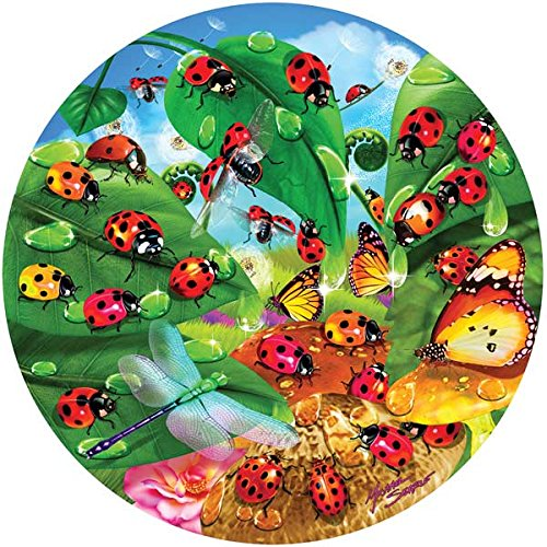 Ladybug Circle a 100-Piece Jigsaw Puzzle by Sunsout Inc.