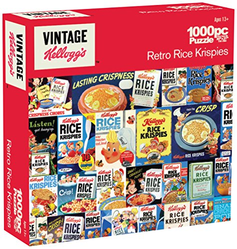 Karmin International Kelloggs Retro Rice Krispies Puzzle (1000-Piece)