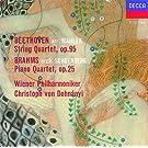 Beethoven (arr.Mahler): String Quartet No.11 / Brahms (orch.Schoenberg): Piano Quartet No.1