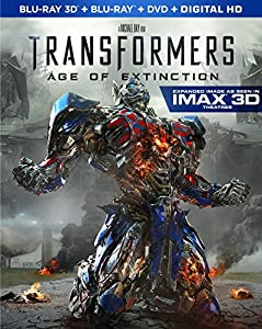 Transformers: Age of Extinction (3D Blu-ray + Blu-ray + DVD) from Paramount