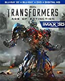 Transformers: Age of Extinction (3D Blu-ray + Blu-ray + DVD)