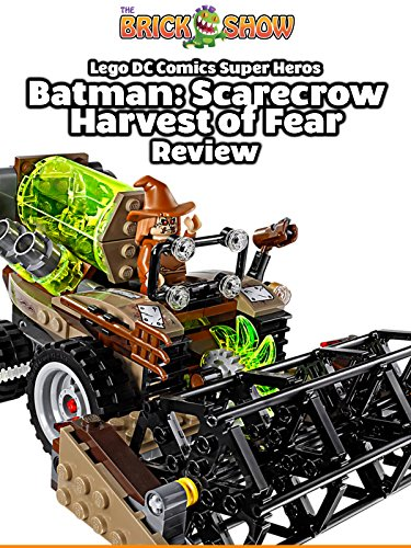 LEGO DC Comics Batman:Scarecrow Harvest Of Fear Review (76054)
