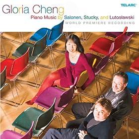 Piano Music of Salonen, Stucky and Lutoslawski