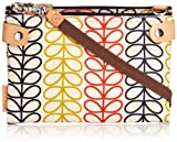 Orla Kiely Linear Stem Travel Pouch Cross Body Bag
