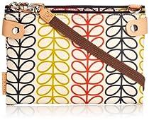 Orla Kiely Linear Stem Travel Pouch Cross Body Bag