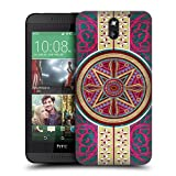 Head Case Designs Islamic Dome Arabesque Pattern Protective Snap-on Hard Back Case Cover for HTC Desire 610