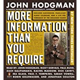 More Information Than You Require Adapted ~ John Hodgman