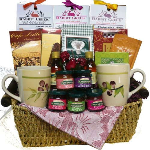 Wake up and Celebrate! Gourmet Pancake and Breakfast Baking Gift Basket (Scheduled Delivery)