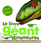 Le livre g�ant des dinosaures