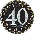 Sparkling Celebration 40 Paper Dinner Plates