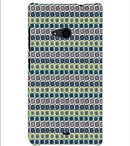 MICROSOFT LUMIA 535 CIRCLE PATTERN Designer Back Cover Case By PRINTSWAG