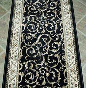101257 rug depot traditional oriental hall for Custom area rugs home depot