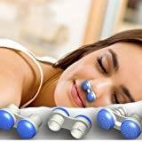 Anti Snoring Devices,Soft Silicone Stop Snoring Solution Nose Vents To Ease Breathing Good Sleep Air Purifier (Upgrade 2 stylers Including 6pcs different size,New Anti Snoring)