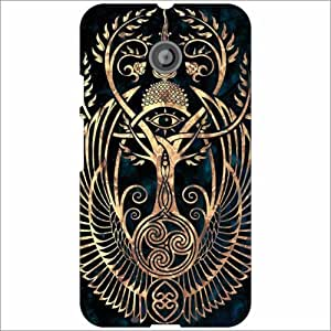 Motorola Moto E (2nd gen) Back Cover - Cool Designer Cases