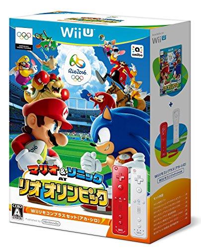 マリオ&ソニック AT リオオリンピックTM Wiiリモコンプラスセット(アカ・シロ)【Wii U】