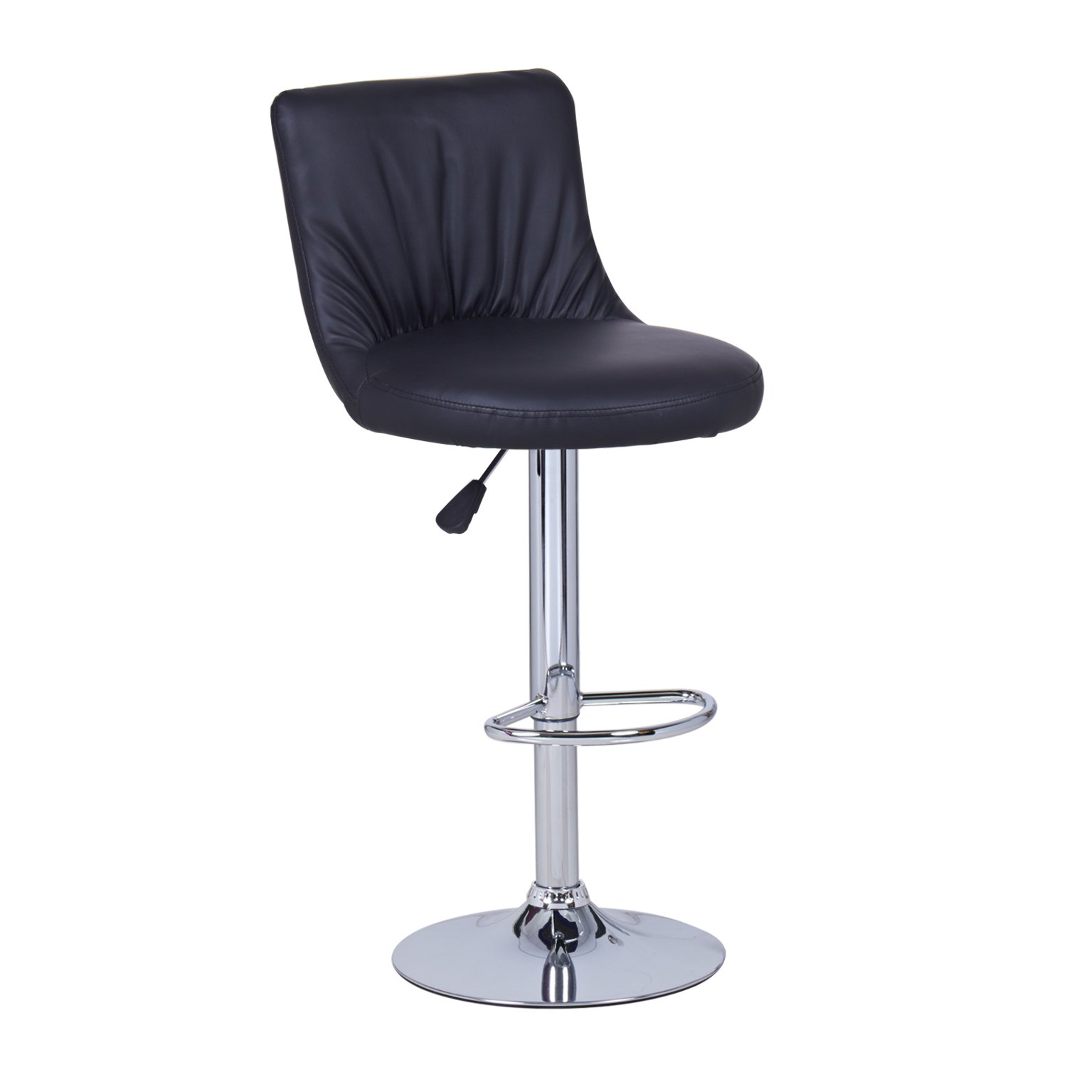 Joveco JCH44-2 Adjustable Oval Seat Bar Stools