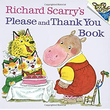 Set A Shopping Price Drop Alert For Richard Scarry's Please and Thank You Book (Pictureback(R))