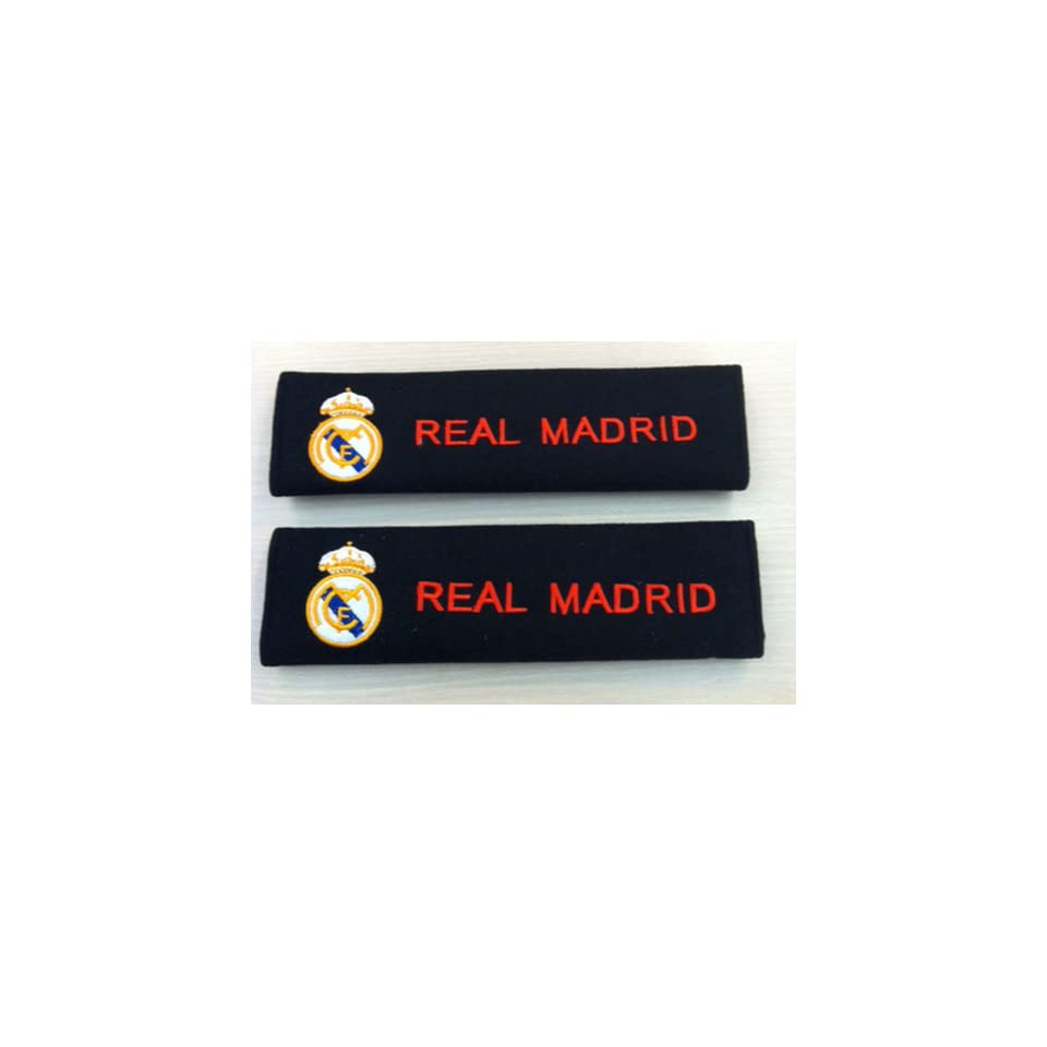 Remarkable Real Madrid Seat Belt Cover Shoulder Pad One Pair On Popscreen Beatyapartments Chair Design Images Beatyapartmentscom