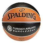 Spalding Euro League Tf 500 Basketball Orange/black Size 7