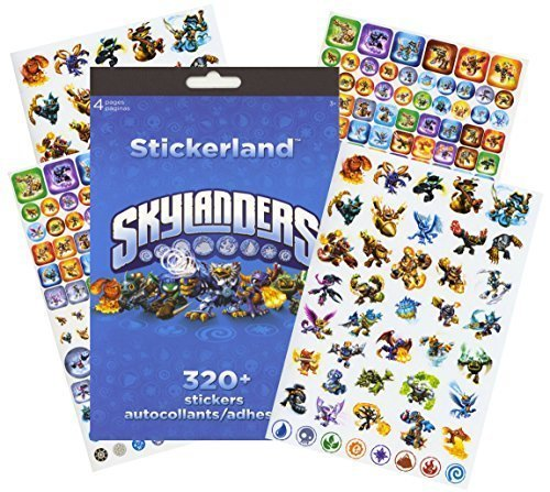 Skylanders Stickers - 320 Stickers!
