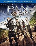 【Amazon.co.jp限定】PAN~ネバーランド、夢のはじまり~ 3D & 2D ブルーレイセット(初回仕様/2枚組/デジタルコピー付)(B5サイズポスター付) [Blu-ray]