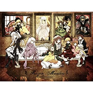 Rozen Maiden Poster by Silk Printing # Size about (47cm x 35cm, 19inch x 14inch) # Unique Gift # 32C58A