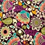 C0134 Pretty Fabric print 100% cotton Patterned fl&hellip by fabric