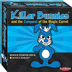 Killer Bunnies Conquest Blue Starter Card Game