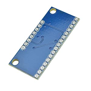 HiLetgo CD74HC4067 CMOS 16 Channel 16 CH Digital Analog Multiplexer Breakout Module for Arduino (Color: Blue, Tamaño: Small)