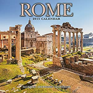 calendrier 2015 rome italie place d 39 espagne le colisee fournitures de bureau. Black Bedroom Furniture Sets. Home Design Ideas
